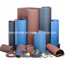 Schleifpapier Tuch beschichtetes Schleifmittel für Metall