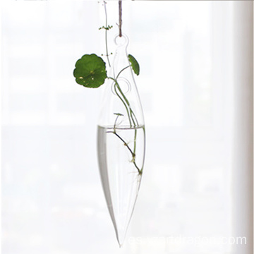 home decor hanging garden suspension type plant hanging glass vase terrarium