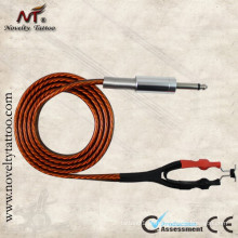 N1006-37 máquina de tatuagem cabo adaptador de energia cabo 1,8 m de comprimento