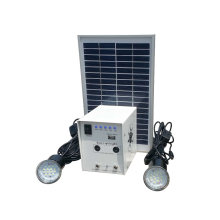 Indoor Mini 5w Solar Licht-Kits