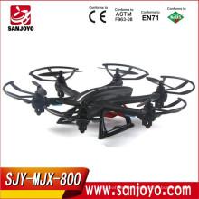 New Arrival RC Quadcopter Drone with camera RTF 2.4GHz 6-axis Gyro Headless Mode One Key Return SJY-MJX-X800