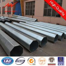 Poste de acero galvanizado lateral múltiple de 27,5 m 15kn