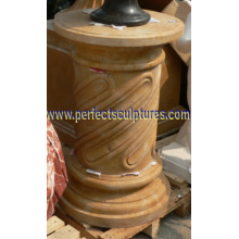 Stone Marble Granite Roman Column Pillars for Architecture (QCM121)