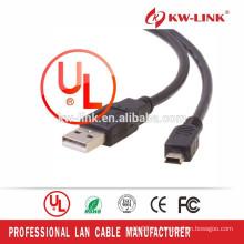 Шэньчжэнь завода оптовой мини-USB-кабель типа для мини-USB Mini 5pin кабель для передачи данных