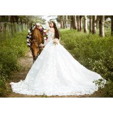 off Shoulder Bridal Wedding Gown Bridal Dresses (TJBLCT006)