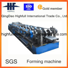 C Steel Purlin Roll Forming Machine with Gear Box Driving