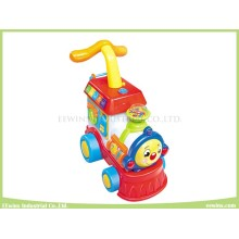 Electronic Musical Toys Happy Train Head Baby Walker