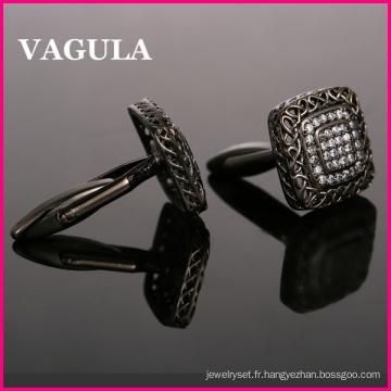 VAGULA Super qualité Zircon chemises manchette (HL10199)