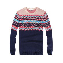 New Design Men′s Windproof Jacquard Sweater Mens Knitwear for Christmas Gift