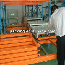 Механический складской техники,промышленной автоматизации стеллажных складов отодвинуть стойку