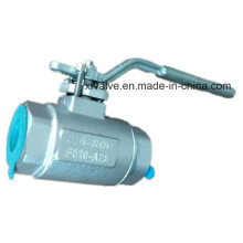 800lb Forged Stainless Steel F316 Thread End NPT Ball Valve