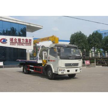 Hidraulik DONGFENG Wrecker Crane Truck For Sale