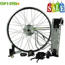 TOP / OEM europe utilisé le meilleur kit de moteur électrique de vélo de vente 250w