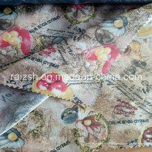 Polyester bedruckt Futter Satin Stoff bedruckt Taft Futter