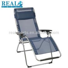Barato Cadeira De Praia Dobrável Portátil Cadeira Dobrável Cadeira Gravável Reclinável De Gravidade Zero