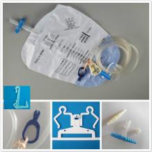 Kit de bolsa de drenagem com melhor conector luer