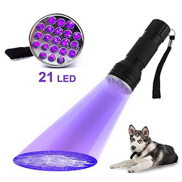 Detector de olores de manchas de mascotas Linterna UV