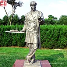 2016 Neue Bronzefigur Statue Bronze Porträt Skulptur Für Garten Dekoration