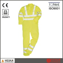 Oi Vis Workwear reflexivo Men′s trabalhando Bib calças