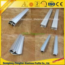 Extrusion de profil en aluminium de Customzied pour la poignée d'armoire de cuisine