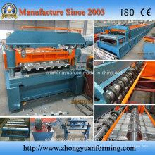 Máquina de moldagem de encanamento de piso Corrugate 6