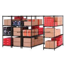 Rack de armazenamento de aço médio de 4 camadas para armazém