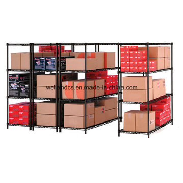 4 Layers Medium Duty Steel Storage Rack for Warehouse