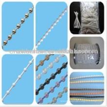 Рулонные шторы пластиковая шариковая цепь, шариковая цепочка шариков 4,5 * 6 мм, цепочка роликовых абажуров, компоненты жалюзи