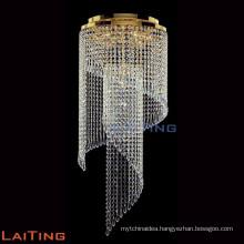 Modern crystal raindrop antler on chandelier ceiling 92013