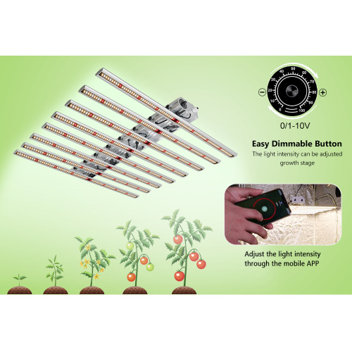 Beste Qualität Vollspektrum LED Grow Lights Aluminium