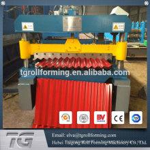 Машина для тиснения металла из гофрированного листового металла