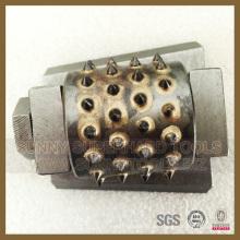 Gute Qualität Frankfurter Art Diamond Bush Hammer zum Stein Schleifen