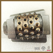 Good Quality Frankfurt Type Diamond Bush Hammer for Stone Grinding