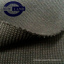 glue bonded polyester ribana and polar fleece fabric for winter jacket