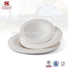 Ceramic cheap bulk porcelain appetizer plates, soup salad plate
