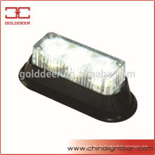 Auto parrilla luz Led luz de emergencia 12 v Led luces de advertencia del tablero