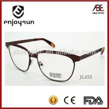 Gafas de moda ópticas atractivas del marco del metal del metal de la manera