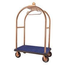 New Design Rose Gold Stainless Steel Handcart (DF66)
