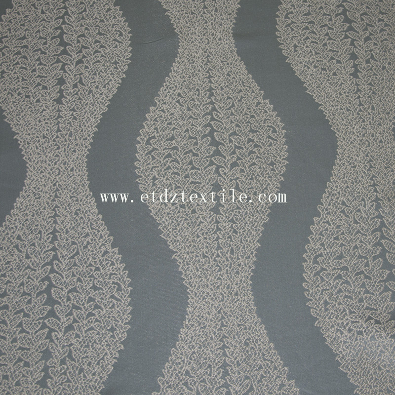 China Popular New Designs of Curtain Fabric GF028 Water Blue