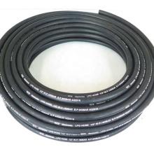 High Pressure One Wire Braid Black Color 1/2 inch CNG/LPG hose