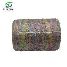 Colorful High Tenacity PE/PP/Polyester/Nylon Plastic Twisted/Braided/Baler/Thread/Packing/Fishing Net Line (210D/380D) by Spool/Reel/Bobbin/Hank