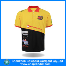Factory OEM Tee Shirt 100 Polyester Casual Men Polo