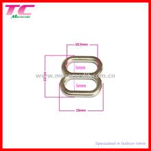 10,5 mm Bra Metal Slider Buckle