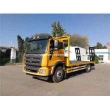 Máquinas de construção 4x2 lowbed truck