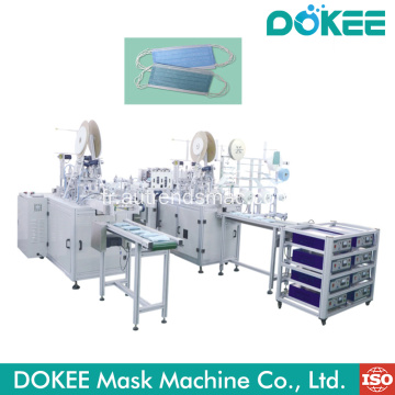 Masque facial jetable faisant la machine