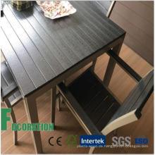 WPC Composite Outdoor Tisch für Park & Garden Dekoration