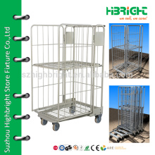 industrial folding laundry trolley wheels