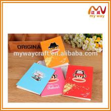 cute monkey cover notebook,children cute notebook design