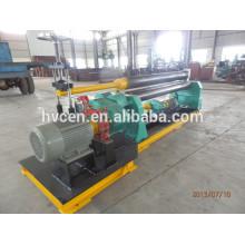 Máquina de laminación de placas asimétricas de 3 rodillos mecánicos w11f-2 * 1000