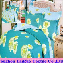 Double Side Printed Bed Sheet Set of Tc Fabric